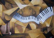 آموزش نقاشی کوبیسم