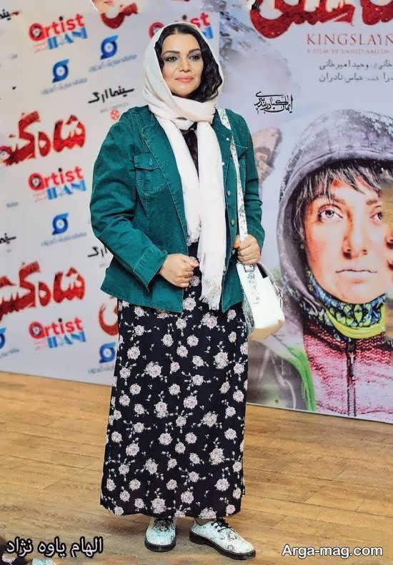 الهام پاوه نژاد و حضور وی در اکران خصوصی فیلم سینمایی شاه کش