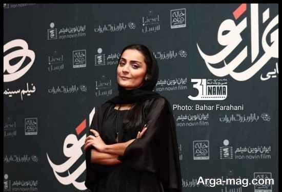 عکس های السا فیروز آذر در مراسم اکران فیلم هزارتو