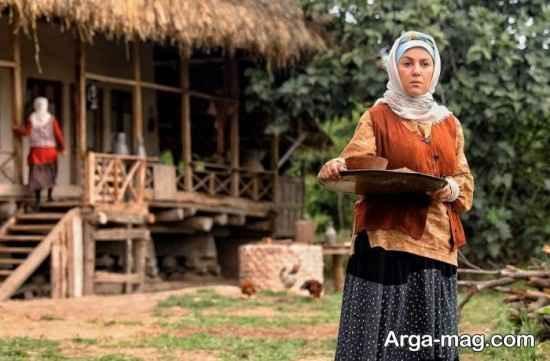 بازی امیرحسن صدیق و ستاره اسکندری در سریال گیله