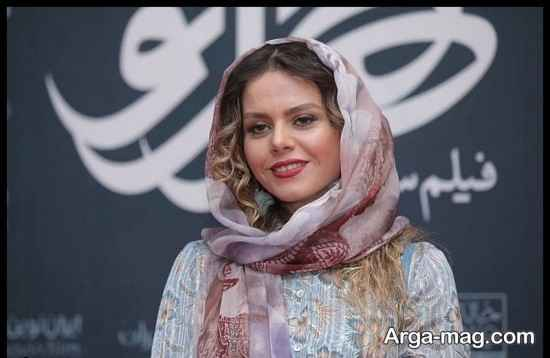غزال نظر در مراسم اکران فیلم هزارتو