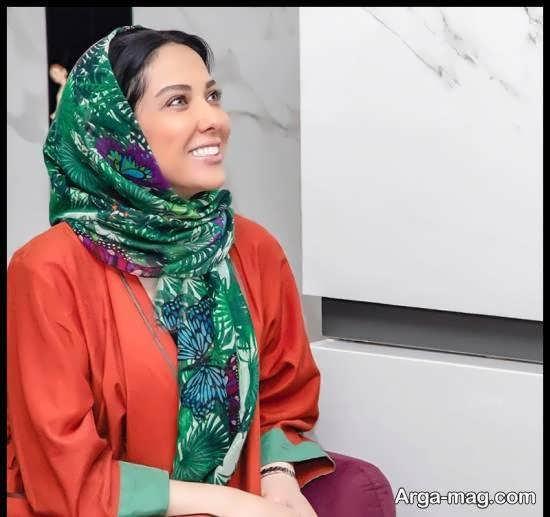 لیلا اوتادی و حضور وی در مراسم افتتاح سالن زیبایی نیکی آرمانی