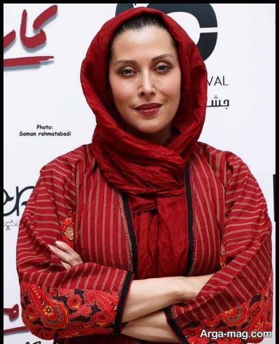 مهتاب کرامتی در اختتامیه جشنواره فیلم کوتاه ده