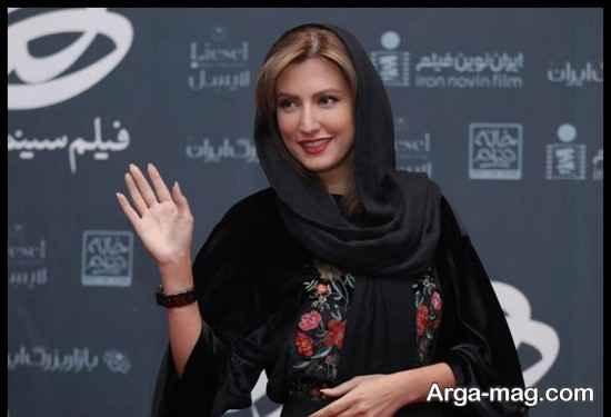 عکس های سمیرا حسینی در اکران فیلم هزارتو