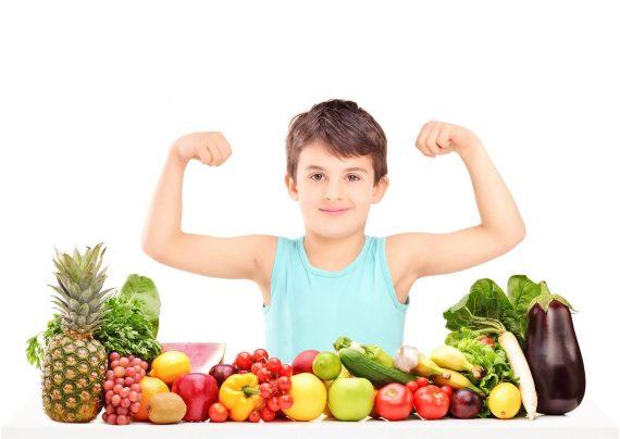تغذیه کودک شش ساله