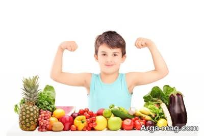 چگونگی تغذیه کودک شش ساله