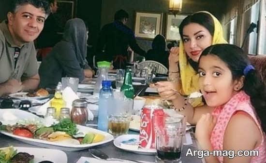 تصویر خانوادگی شهرام پوراسد