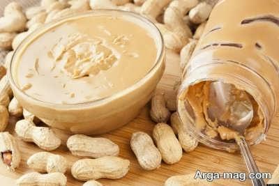 مواد مغذی موجود در کره بادام زمینی