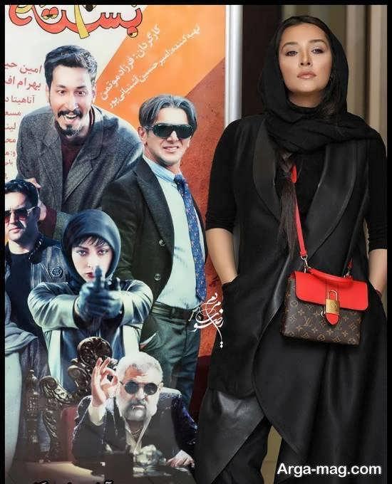 آناهیتا درگاهی در مراسم اکران فیلم سینمایی چشم و گوش بسته