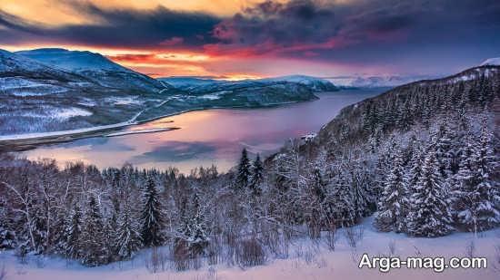 دهکده اِرشفیوربُتِن مکانی زیبا و دیدنی در نروژ