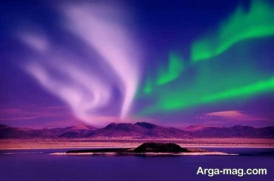چشم اندازی زیبا و رویایی در نروژ
