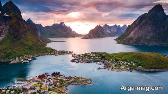 طبیعت جذاب نروژ
