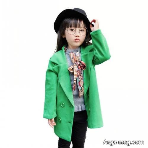 پالتوی سبز کودک
