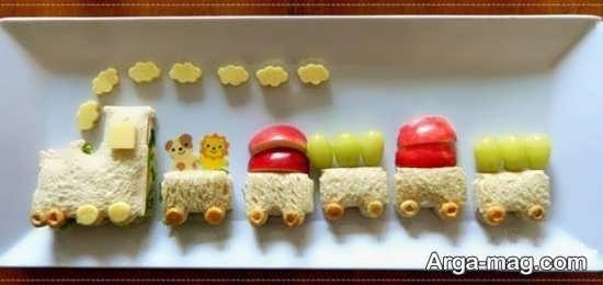 دیزاین شیک غذای کودکانه