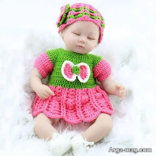 مدل لباس گرم برای نوزاد