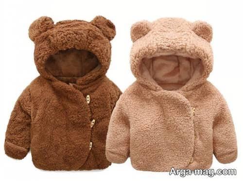 طرح لباس گرم برای نوزاد