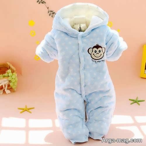 لباس سرهمی نوزاد