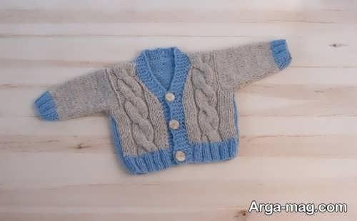 لباس بافت برای نوزاد