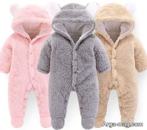 مدل لباس زمستانی نوزاد