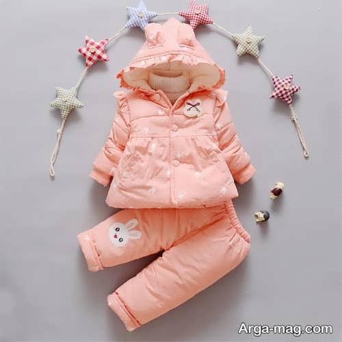 مدل لباس گرم نوزاد