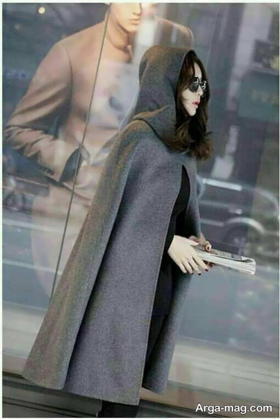 مدل جذاب و جالب پالتو خفاشی