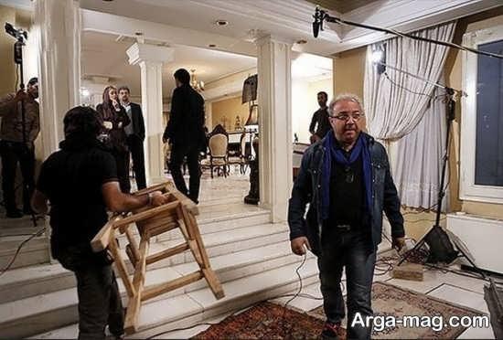 حسین سهیلی زاده در فیلم اوای باران