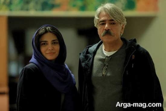 عکس لیندا کیانی در کنار کیهان کلهر نوازنده مشهور ایرانی