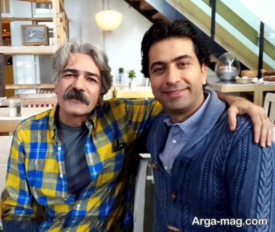 عکس محمد معتمدی همراه با کیهان کلهر