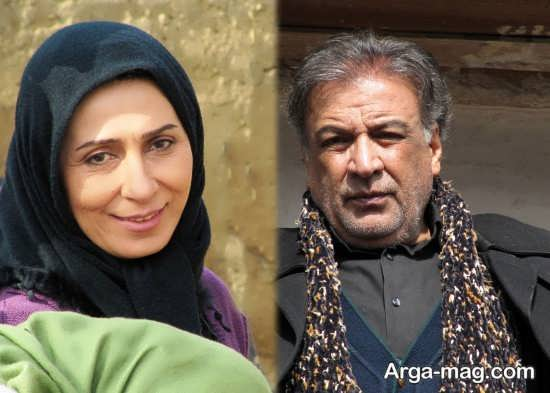 تصویر مریم کاظمی و عبدالرضا اکبری بازیگر
