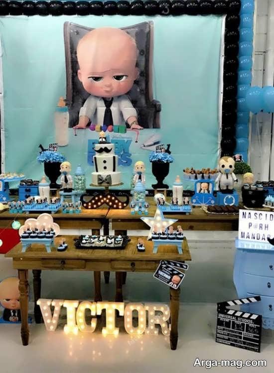 دیزاین شاد و کودکانه جشن تولد