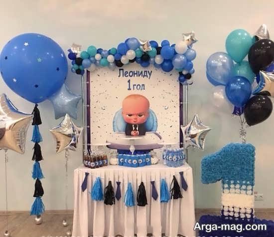 تزیینات زیبای جشن تولد با تم کودک