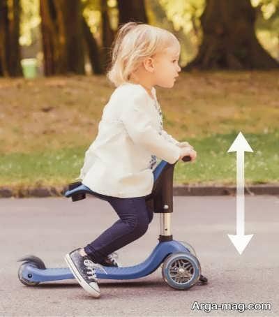 تاثیر اسکوتر سواری بر تقویت عضلات