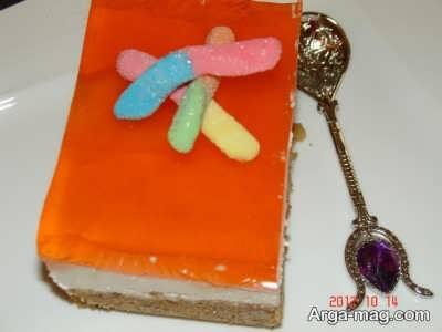 چیز کیک یخچالی خوشمزه