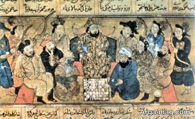 پیشینه شطرنج در شاهنامه