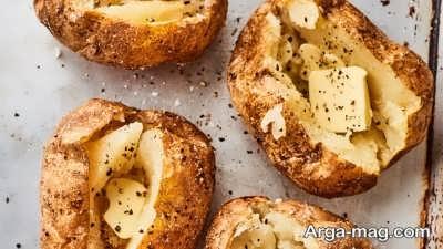 مصرف سیب زمینی پخته به جای سیب زمینی سرخ شده