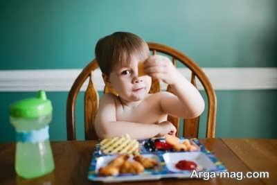 بی اشتهایی در کودکان با مصرف چیپس