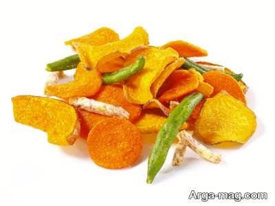قرار دادن میوه های تازه برای جلوگیری از مصرف چیپس برای کودکان