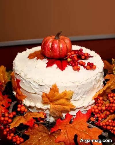 عکس کیک تولد آبان