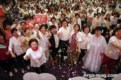 برگزاری جشن کیک در شهر گیونگ جو