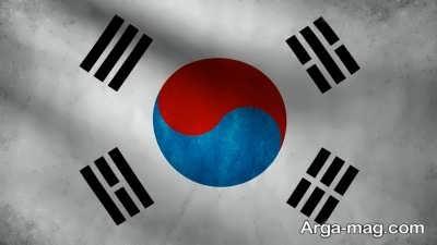نماد پرچم کشور کره جنوبی