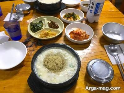 غذاهای رنگارنگ در کشور کره جنوبی