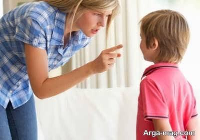 عدم پرخاش نسبت به کودک نق نقو