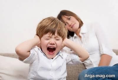 بی تفاوت بودن به رفتار کودک نق نقو