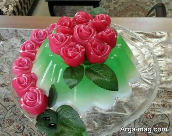 قشنگ ترین تزئینات ژله برای شب یلدا