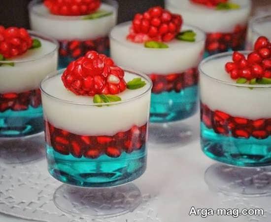 زیباترین تزئینات ژله برای شب یلدا