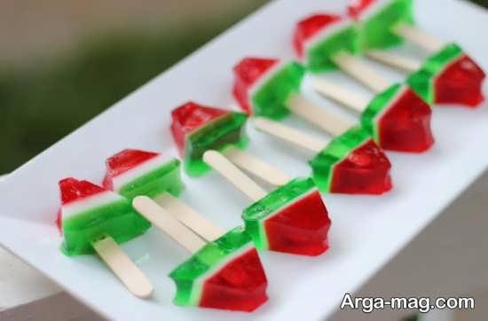 شیک ترین تزئینات ژله برای شب یلدا