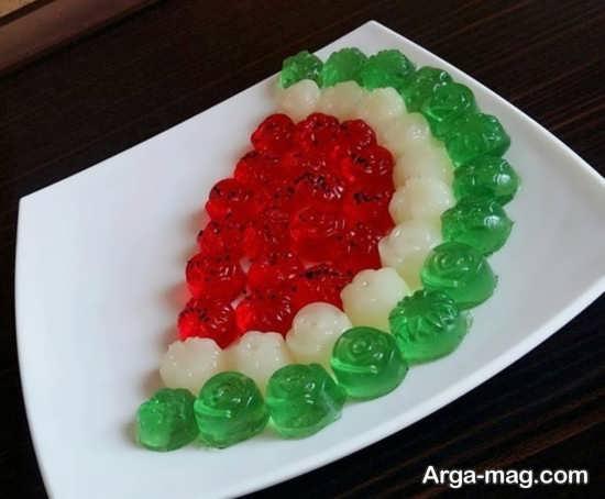 متنوع ترین تزئینات ژله برای شب یلدا