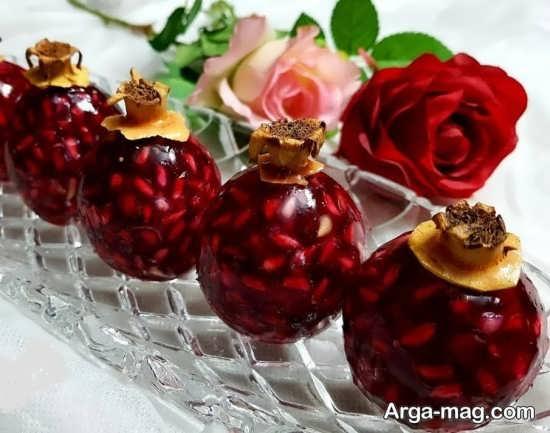 تزئینات دوست داشتنی ژله برای شب یلدا