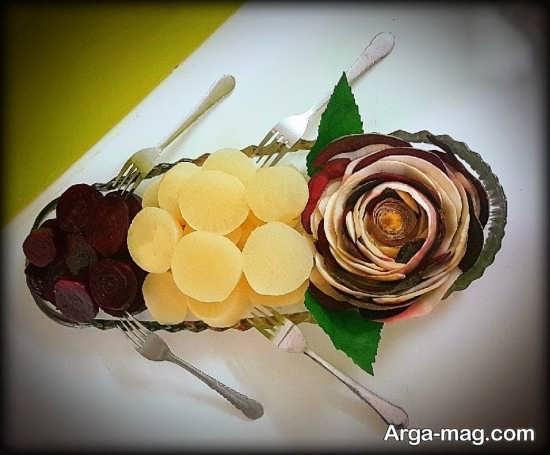 تزئینات لبو به شکل ساده