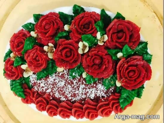 قشنگ ترین تزئینات لبو شب یلدا